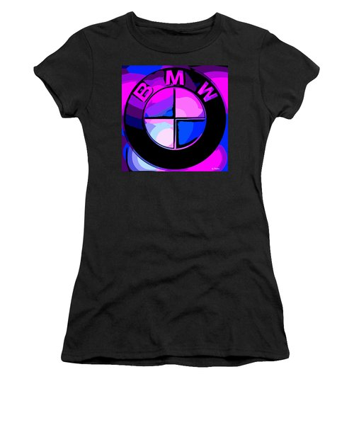 BMW Women's T-Shirt (Junior Cut) by George Pedro