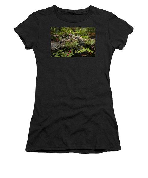 Garden Pond - D001133 Women's T-Shirt (Athletic Fit)
