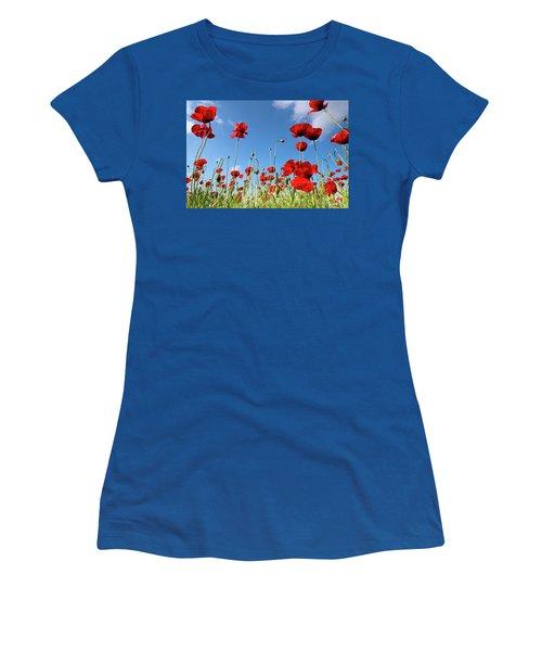 Poppies Season Women's T-Shirt