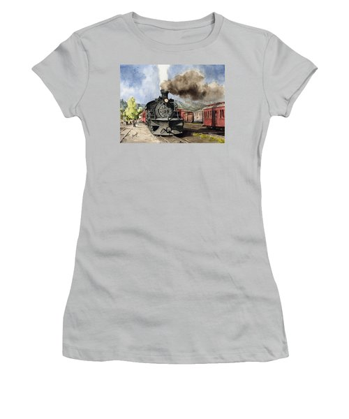 Chama Arrival Women's T-Shirt (Athletic Fit)