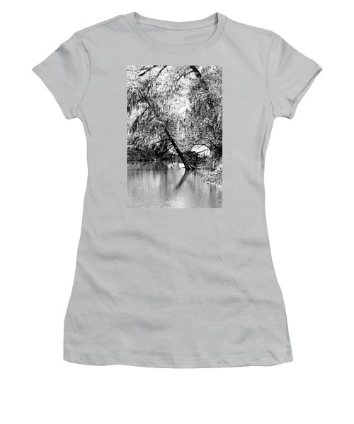 The River Filtered Women's T-Shirt (Athletic Fit)