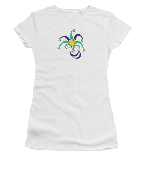 Mardi Gras Jester Women's T-Shirt
