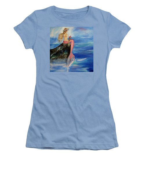 Mermaid Wishes Women's T-Shirt (Athletic Fit)