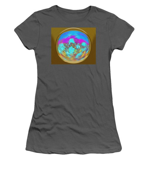 Enchanted View. Unique Art Collection Women's T-Shirt (Athletic Fit)