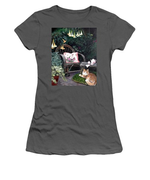 My Secret Garden Women's T-Shirt (Athletic Fit)