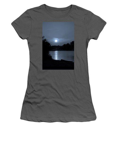 Twilight Women's T-Shirt (Junior Cut) by Sue Stefanowicz