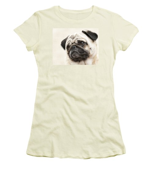 L-o-l-a Lola The Pug Women's T-Shirt (Athletic Fit)