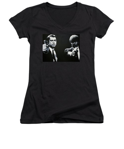 - Pulp Fiction - Women's V-Neck T-Shirt