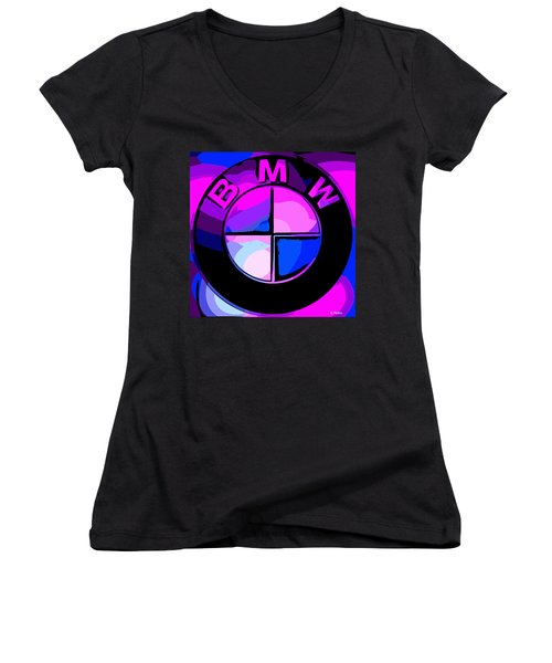 BMW Women's V-Neck T-Shirt