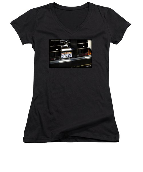 Outatime Women's V-Neck (Athletic Fit)