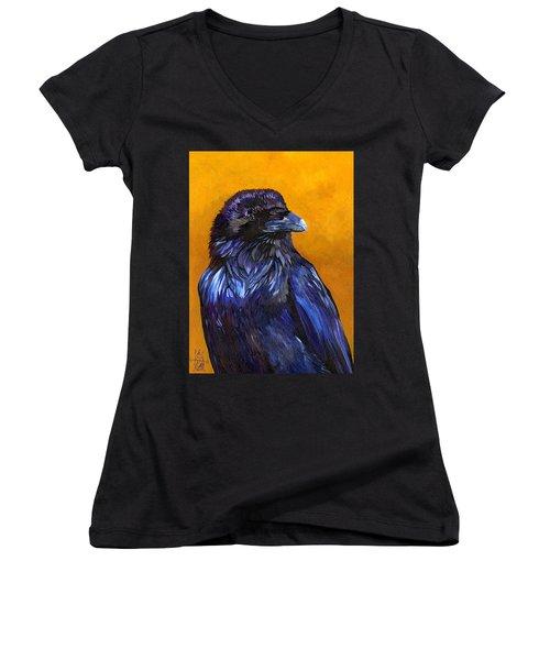 Raven Women's V-Neck (Athletic Fit)