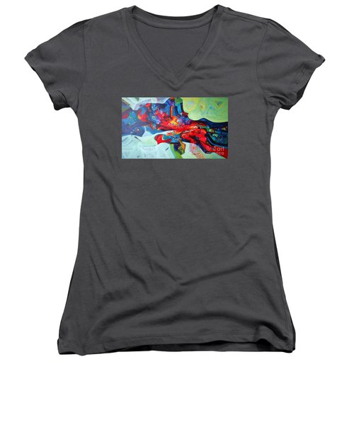 Inner Power Women's V-Neck T-Shirt