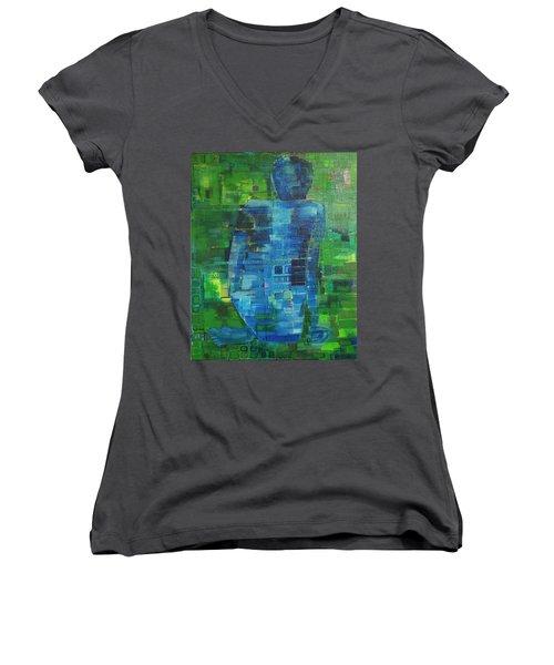 My Matisse Women's V-Neck T-Shirt