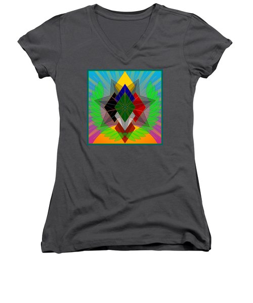 We N' De Ya Ho 2012 Women's V-Neck (Athletic Fit)