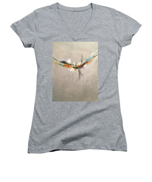 Aspire Women's V-Neck T-Shirt