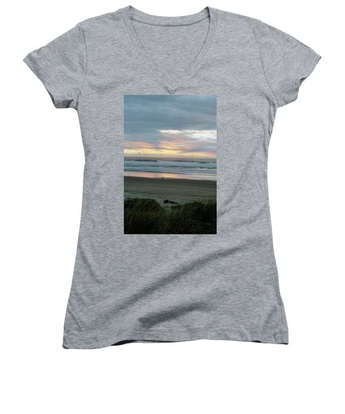 Oregon Coast 1 Women's V-Neck T-Shirt
