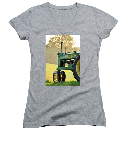Resting Women's V-Neck T-Shirt (Junior Cut)