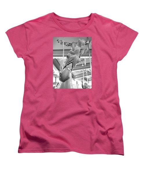 Women's T-Shirt (Standard Cut) featuring the photograph Hello by Barbara McDevitt