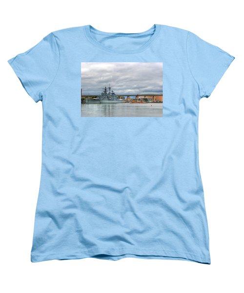 Women's T-Shirt (Standard Cut) featuring the photograph Uss Little Rock by Michael Frank Jr