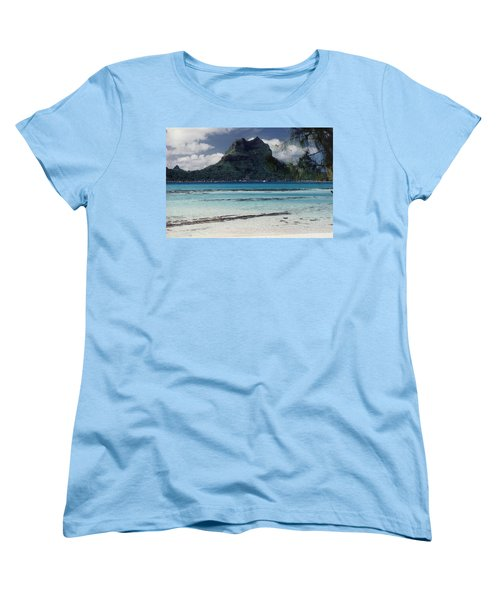 Women's T-Shirt (Standard Cut) featuring the photograph Bora Bora by Mary-Lee Sanders