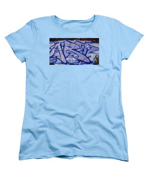 Graffiti Art-art Women's T-Shirt (Standard Cut) by Paul W Faust -  Impressions of Light