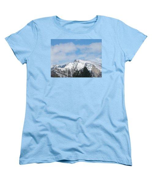 Overlooking Blodgett Women's T-Shirt (Standard Cut) by Jewel Hengen