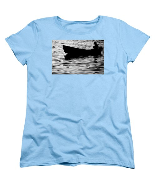 Women's T-Shirt (Standard Cut) featuring the photograph The Old Fishermen by Pedro Cardona