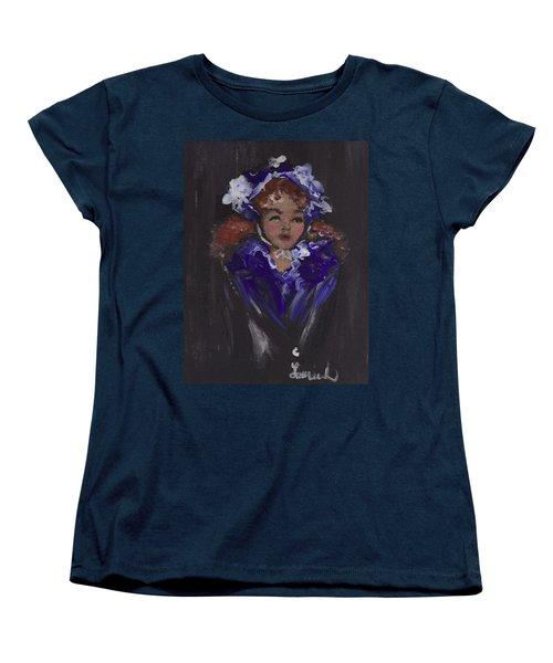 Lil Girl Blue Women's T-Shirt (Standard Cut)