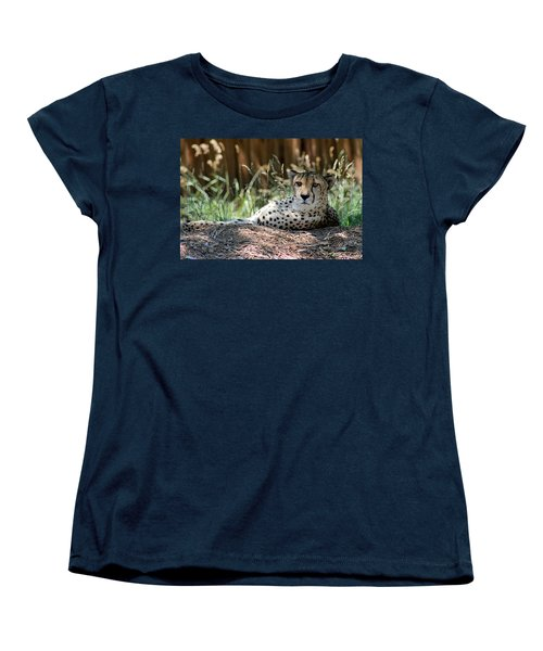 Amber Eyes Women's T-Shirt (Standard Cut) by Alycia Christine