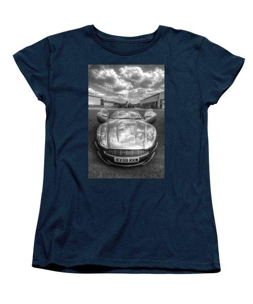 Aston Martin Dbs Women's T-Shirt (Standard Cut) by Yhun Suarez