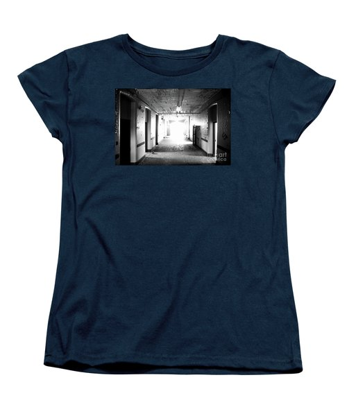 End Of The Hall Women's T-Shirt (Standard Cut) by Randall Cogle