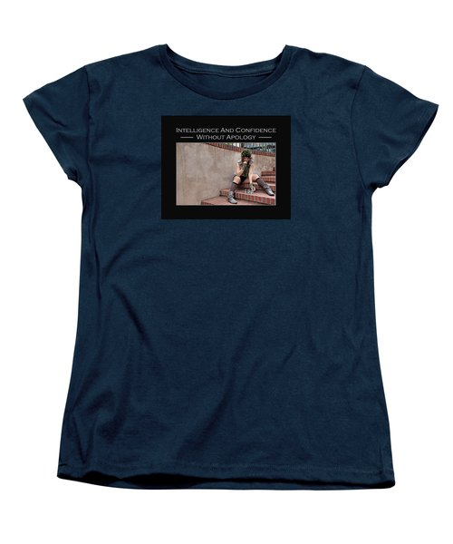 Kellie Peach 10-204 Women's T-Shirt (Standard Cut) by David Miller