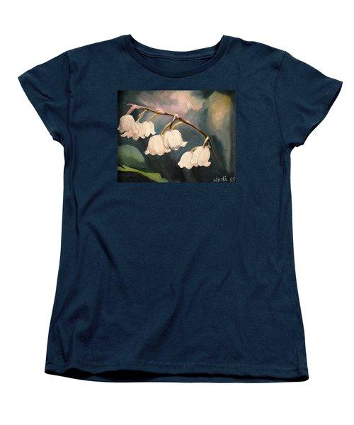 Lily Whites Women's T-Shirt (Standard Cut) by Renate Nadi Wesley