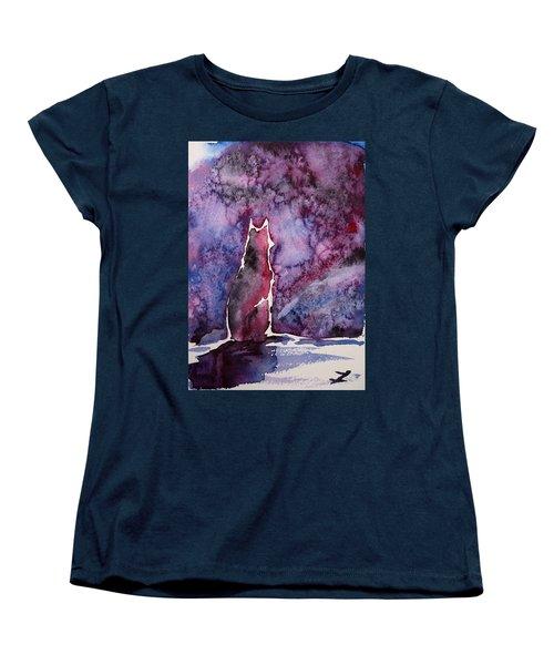 Waiting Women's T-Shirt (Standard Cut) by Zaira Dzhaubaeva