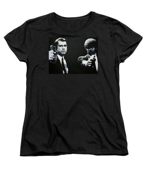 - Pulp Fiction - Women's T-Shirt (Standard Cut) by Luis Ludzska