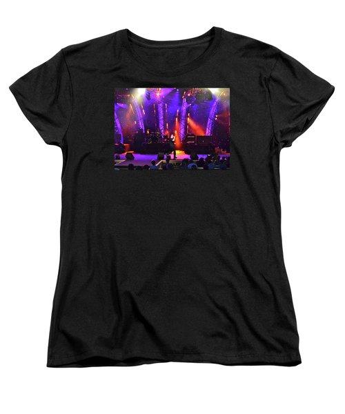 Women's T-Shirt (Standard Cut) featuring the photograph 2u Does U2 by Carol  Bradley