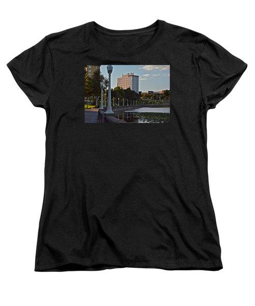 Beautiful Downtown Lakeland Women's T-Shirt (Standard Cut) by Carol  Bradley