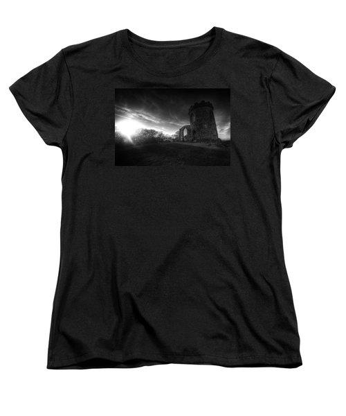 Bradgate Park At Dusk Women's T-Shirt (Standard Cut) by Yhun Suarez