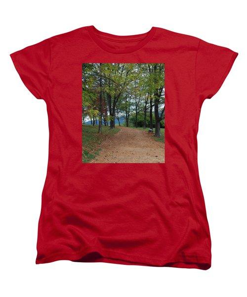 Pathway Women's T-Shirt (Standard Cut) by Eric Liller