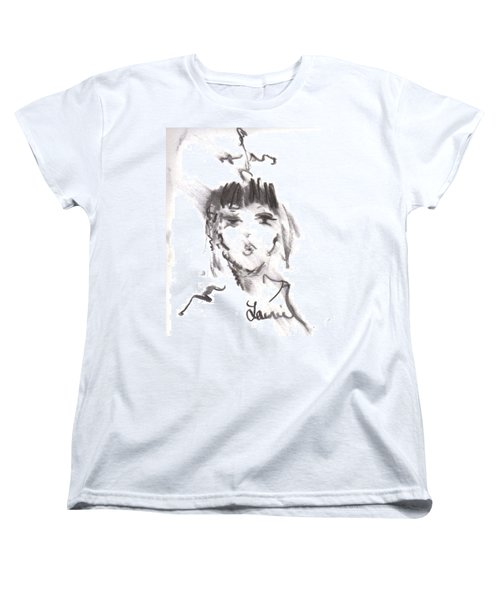 Queen Of Kisses Women's T-Shirt (Standard Cut) by Laurie L
