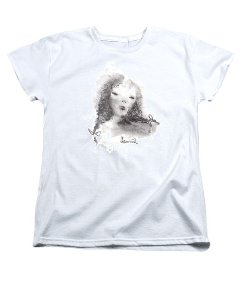 Women's T-Shirt (Standard Cut) featuring the drawing Yesterday by Laurie L