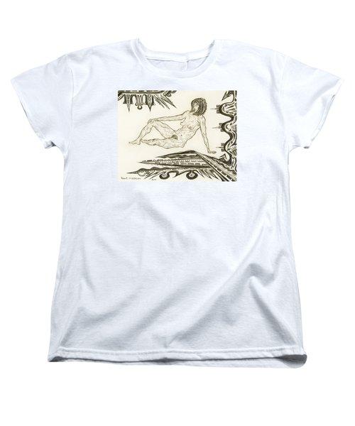 Live Nude 4 Female Women's T-Shirt (Standard Cut) by Robert SORENSEN