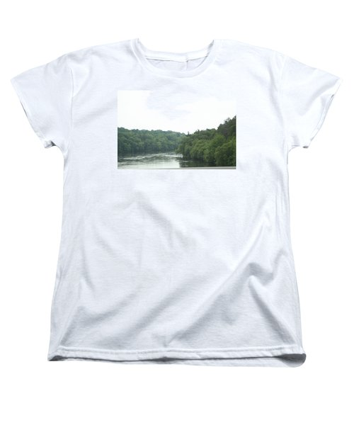 Mighty Merrimack River Women's T-Shirt (Standard Cut) by Barbara S Nickerson