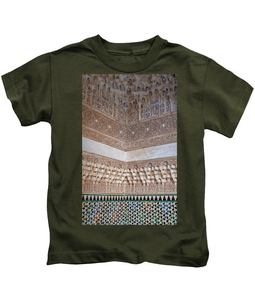 Colorful Carved Corner Kids T-Shirt