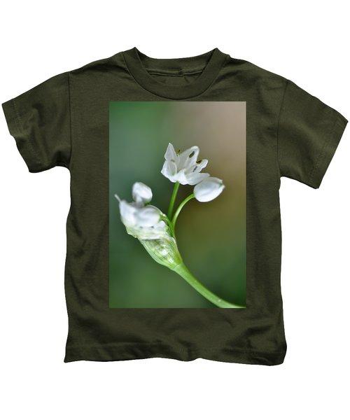 White Blossom 3 Kids T-Shirt