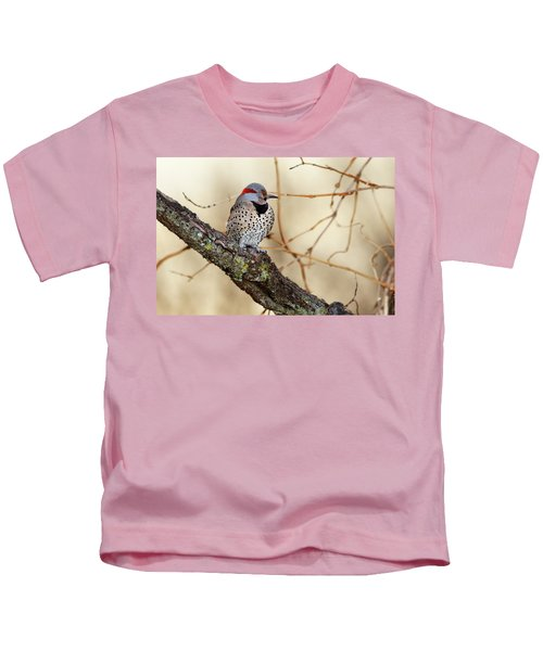 Yellow-shafted Northern Flicker Kids T-Shirt