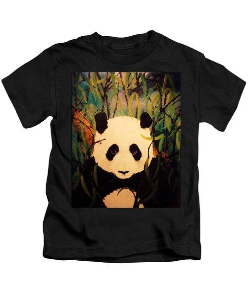 Endangered Panda Kids T-Shirt
