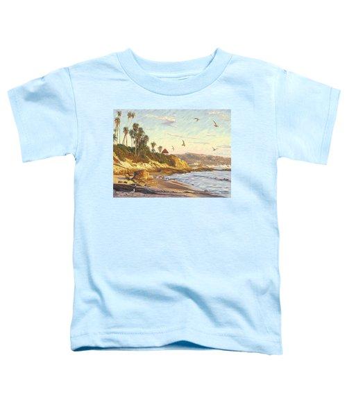 Heisler Park Rockpile At Twilight Toddler T-Shirt