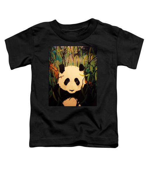 Endangered Panda Toddler T-Shirt