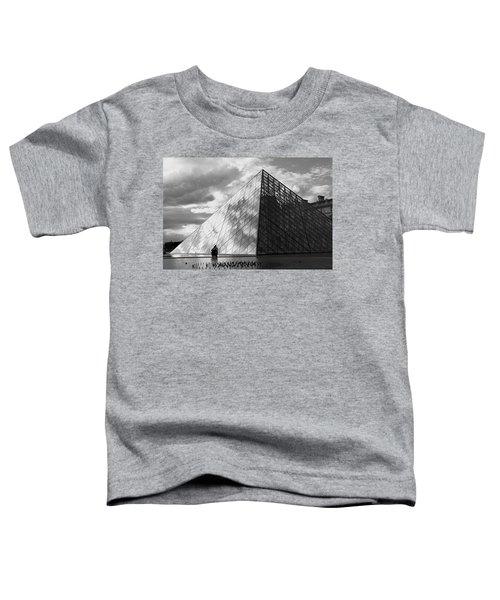 Glass Pyramid. Louvre. Paris.  Toddler T-Shirt